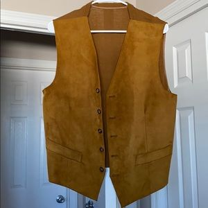 ALDI Suede Vest Imported from Spain